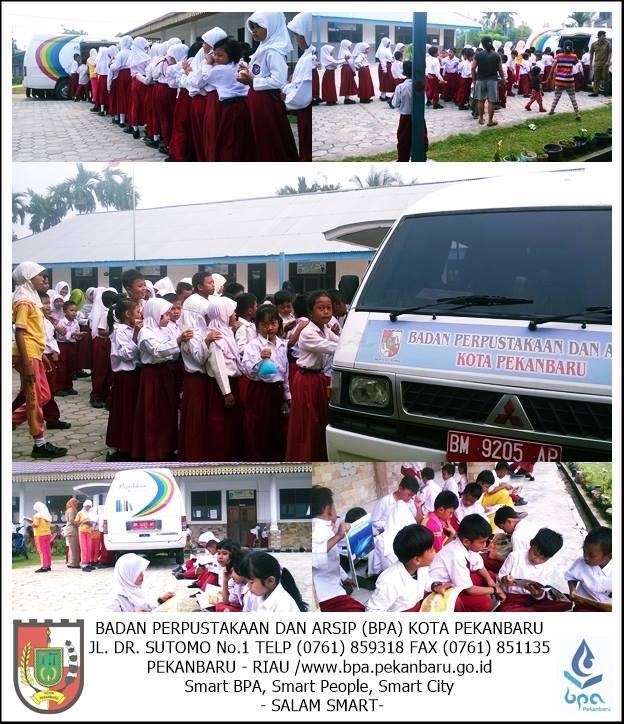Program minat baca Badan Perpustakaan dan Arsip Kota Pekanbaru