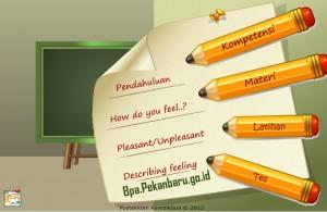 Rumah belajar BPA SD Bahasa Inggris Describing Feeling
