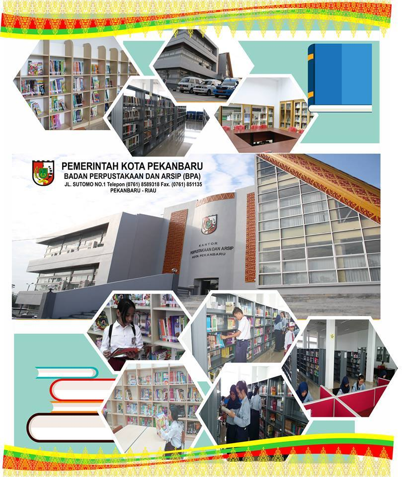 Perpustakaan Keliling badan Perpustakaan dan Arsip kota Pekanbaru