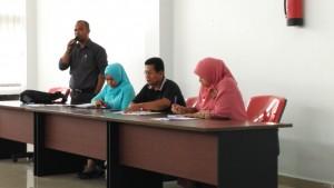 Kegiatan Pengurus Forum Perpustakaan Sekolah Indonesia di BPA Kota Pekanbaru