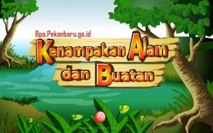 Kenampakan alam dan buatan rumah belajar BPA Kota Pekanbaru