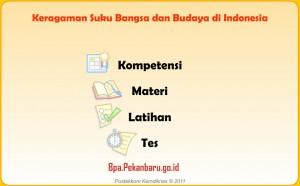 Keragaman Suku Bangsa dan Budaya di Indonesia Rumah Belajar BPA Pekanbaru