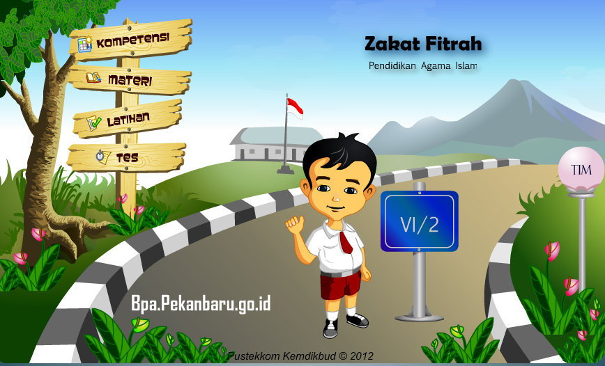 Rumah belajar BPA SD Pendidikan Agama Islam 42 Zakat Fitrah