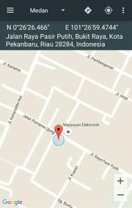 Bukit Raya – Simpang Tiga – SDN 17 – 01 Koord