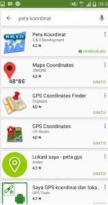 Cara mendapatkan koordinat lokasi dengan online maupun offline 06