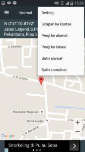 Cara mendapatkan koordinat lokasi dengan online maupun offline 14