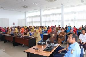 Peserta Seminar Pustakawan Perpustakaan Sekolah