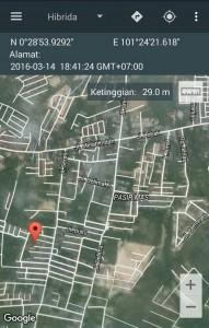 Tampan – Sidomulyo – SDN 165 – 01 Koord