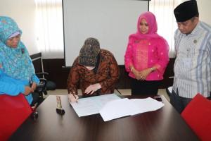 MoU BPA Kota Pekanbaru dengan SDN 20 i