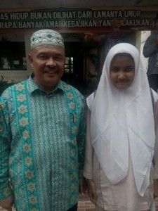 Andra Wahdini, Siswa SMPN 4 Pekanbaru Raih Nilai Tertinggi UN SMP di Riau