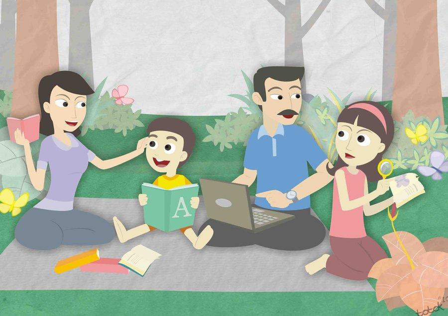 Cara meningkatkan kegemaran membaca keluarga