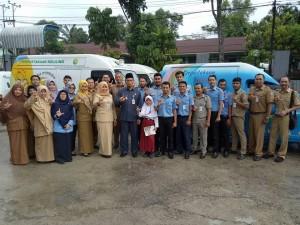 Foto bersama Wakil Walikota di Dispusip Kota Pekanbaru