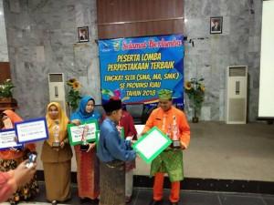 Perpustakaan terbaik Seprovinsi Riau 2018