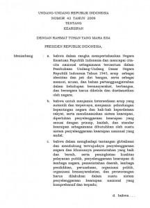 Undang-Undang Nomor 43 Tahun 2009 tentang Kearsipan_2