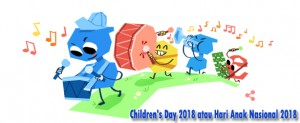 Children's Day 2018 atau Hari Anak Nasional 2018