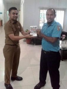 hibah buku Dinas Pariwisata Provinsi Riau