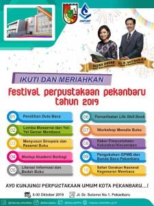 pestival perpustakaan pekanbaru 2019
