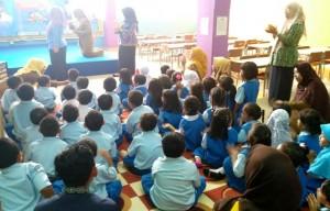 Kunjungan Taman Kanak-kanak Negeri Pembina 1 Pekanbaru