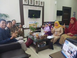 Silaturahmi dengan PENA Wilayah Riau