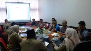 Rapat pembentukan forum GPMB tingkat kota Pekanbaru