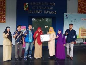 kunjungan Literasi FLP Wilayah Riau