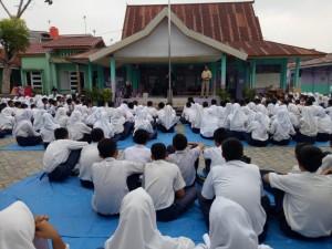 Pembinaan pustaka smp 25 pekanbaru