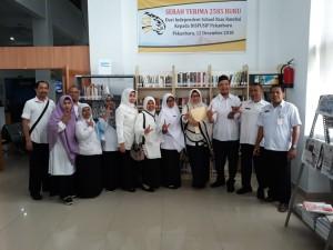 kunungan akreditasi perpustakaan