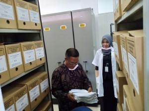 kunjungan kerja dari Dinas Perpustakaan dan Kearsipan Kabupaten Tebo, Provinsi Jambi