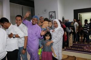 Buka bersama keluarga dispusip pkanbaru 1