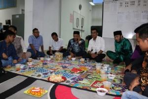 Buka bersama keluarga dispusip pkanbaru 2