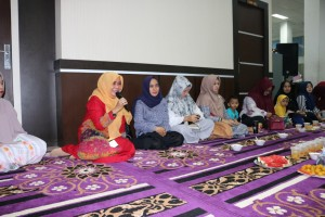 kata sambutan kadis dispusip di Buka bersama keluarga dispusip pkanbaru