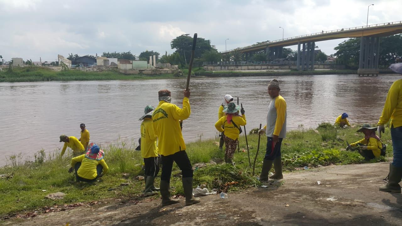 Aksi bersih sungai siak 2019 Dalam rangka menyambut Hari Jadi Kota Pekanbaru yang ke-235, Pemerintah Kota Pekanbaru