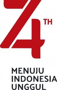 logo hut RI ke 74 tahun 2019 kcl
