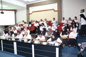 peserta Entry Meeting Pelaksanaan Audit Internal Kearsipan