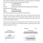 Perjanjian kinerja 2019