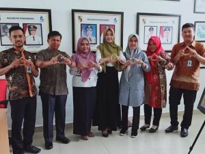 Rabu, 24 Juli 2019 Dinas Perpustakaan dan Arsip Kabupaten Rokan Hulu melaksanakan kunjungan kerja
