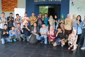foto bersama peserta wiki latih pekanbaru 2019