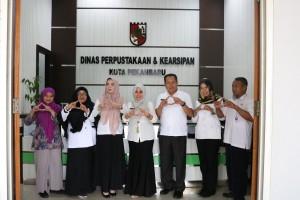 Kunjungan Dinas Perpustakaan dan Kearsipan Kabupaten Indragiri Hulu ke DISPUSIP Pekanbaru