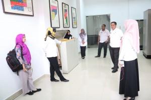 Kunjungan Dinas Perpustakaan dan Kearsipan Kabupaten Indragiri Hulu ke DISPUSIP Pekanbaru 1