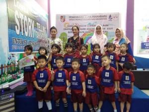 Kunjungan TK TK Cahaya Bunda School Pekanbaru ke Dispusip