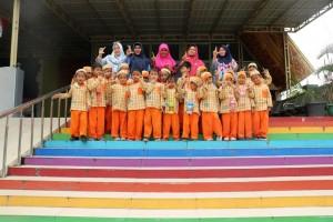 Kunjungan TK Islam Akramunnas dan TK Bhayangkari Pekanbaru