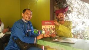 Hibah Buku DESTAR Alam Melayu Dari Bapak Syahyarwan Zam atas bantuan Bapak Syed Muhammad Syukri