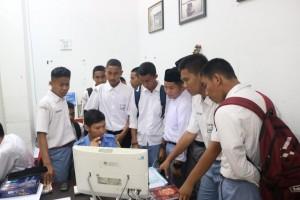 kunjungan sekolah IBS 2