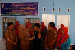 perpustakaan kelurahan tangkerang labuai 1