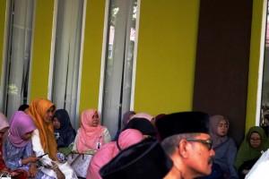 Tausiyah bersama Ustad Dr Mawardi M Saleh Lc MA di dispusip