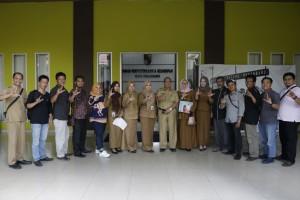 Himpunan Pramuwisata Indonesia Pekanbaru Kunjungi Dispusip 2