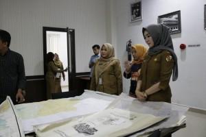 Himpunan Pramuwisata Indonesia Pekanbaru Kunjungi Dispusip