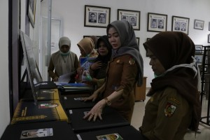 Himpunan Pramuwisata Indonesia Pekanbaru Kunjungi Dispusip 5