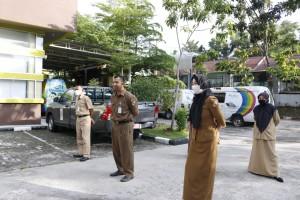 Apel Perdana dan Halal bi Halal Dispusip Setelah Idul Fitri (2)