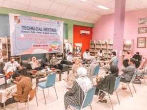 Dispusip Technical Meeting Perlombaan Perpustakaan Sekolah Tingkat SMASMKMA se-Pekanbaru (1)